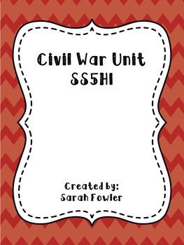 Civil War Unit/SS5H1