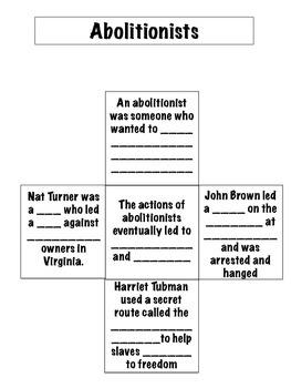 Civil War Virginia Studies Interactive Notebook