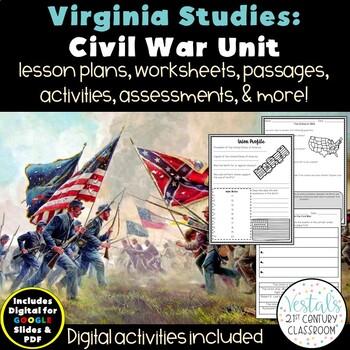 Civil War: Virginia Studies VS.7 {Digital & PDF Included}