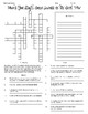 Civil War Vocab Activity and Crossword Package