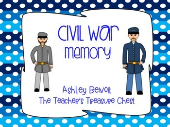 Civil War Vocabulary Packet