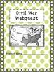 Civil War Webquest - Extended Version