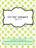 Civil War Webquest - Extended Version