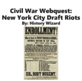 Civil War Webquest: New York City Draft Riots