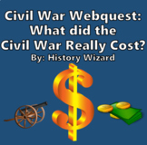 Civil War Webquest: What did Slavery and the Civil War Really Cost?