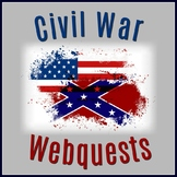 Civil War Webquests