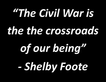 Civil War: Why it still matters today:  Fun, quirky presentation