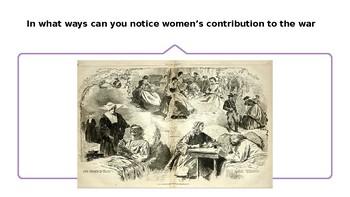 Civil War Women Contributions