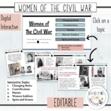 Civil War | Women's Contributions