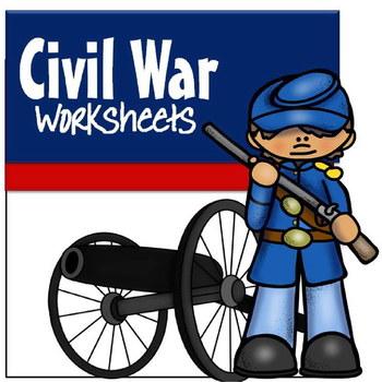 Civil War Worksheets