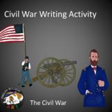 Civil War Writing Activity