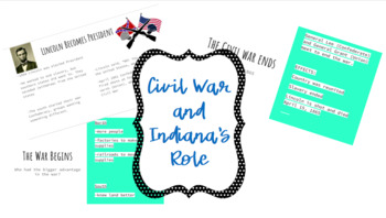 Civil War and Indiana's Role