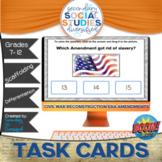 Civil War | Amendments | BOOM Cards and Notes | Reconstruc