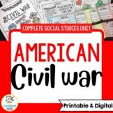 Civil War and Reconstruction  | Printable & Digital | Dist
