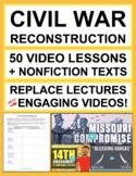 Civil War and Reconstruction Complete Unit | Printable & Digital