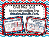 Civil War and Reconstruction Era Activities