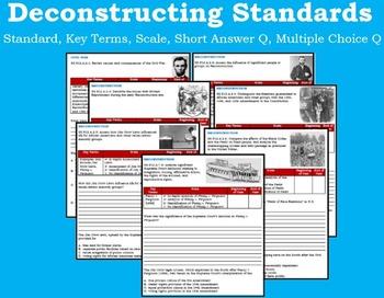 Civil War and Reconstruction- Full Unit!