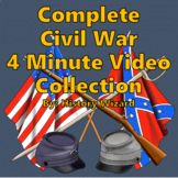 Complete Civil War 4 Minute Video Collection