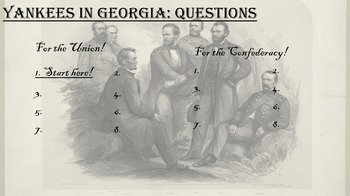 American Civil War - Instructional Game, Atlanta and Sherman's March to the Sea