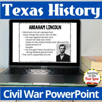 Civil War in Texas PowerPoint