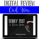 Civil War in Texas Review Game Stinky Feet