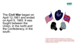 Civil War  in both English and Spanish