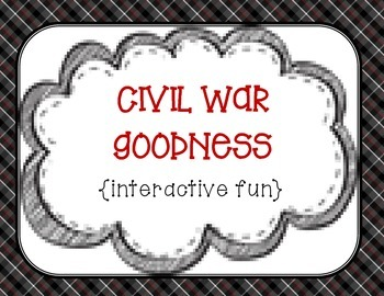 Civil War {interactive goodness}