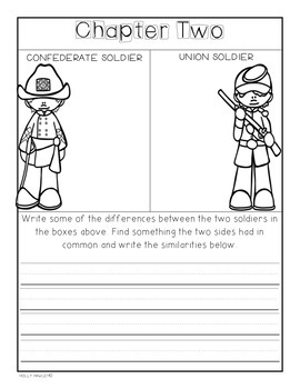 Civil War on Sunday- A Magic Tree House guided reading activity