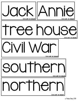 Magic Tree House: Civil War on Sunday Guide