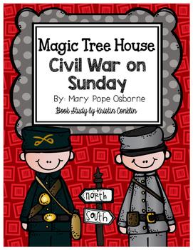 Magic Tree House #21 Civil War on Sunday