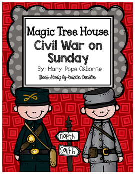 Magic Tree House #21 Civil War on Sunday
