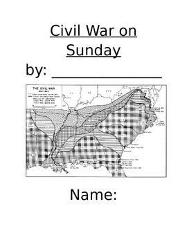 Civil War on Sunday- Novel Packet
