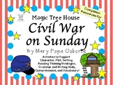 Civil War on Sunday by Mary Pope Osborne:  A Complete Literature Study!