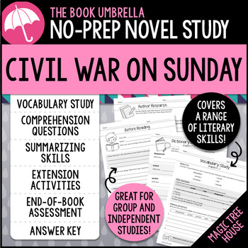 Civil War on Sunday - Magic Tree House