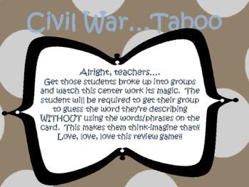 Civil War {Taboo}