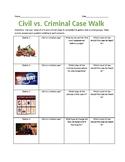 Civil vs. Criminal Law Stations