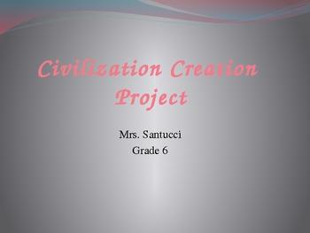 Civilization Creation Project