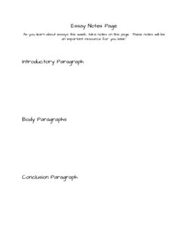 Civilization Essay Unit