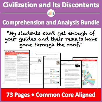 Civilization and Its Discontents – Comprehension and Analysis Bundle