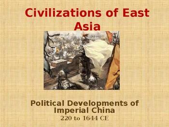 Civilizations of East Asia - Political Developments of Imp
