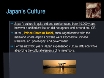 Civilizations of East Asia - The Influence of Neighboring Cultures on Japan