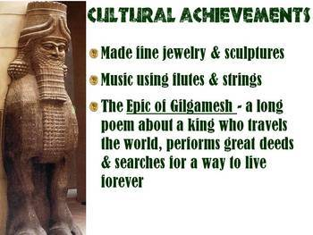 Ancient Civilizations of Mesopotamia PowerPoint