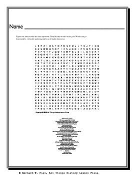 Civilizations of the Fertile Crescent Word Search