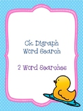 Ck Digraph Word Searches!