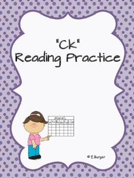 Ck Reading Practice