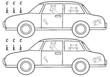 Ck Sound Coloring Page