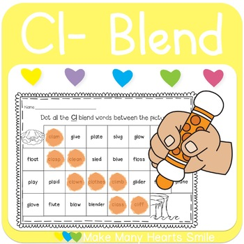 Dot a Path: Cl Blend    MMHS32