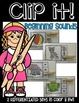 CLIP IT LITERACY CENTERS: Beginning sounds, ending sounds, rhymes, digraphs