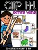 CLIP IT LITERACY CENTERS: Beginning sounds, ending sounds,