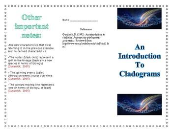 Cladistics pamphlet